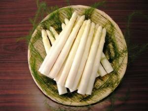 会津産ホワイトアスパラガス